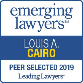 Louis Cairo Emerging Lawyer 2019