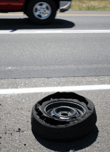 flying tire